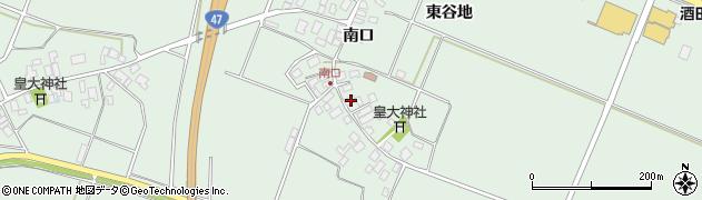 山形県東田川郡庄内町余目南口27周辺の地図
