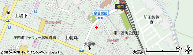 山形県東田川郡庄内町余目上朝丸66周辺の地図