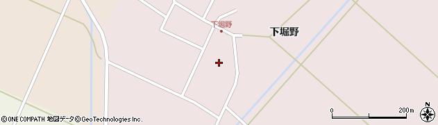 山形県東田川郡庄内町堀野下堀野18周辺の地図