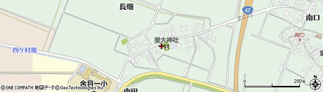 山形県東田川郡庄内町余目長畑22周辺の地図