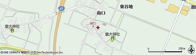 山形県東田川郡庄内町余目南口30周辺の地図