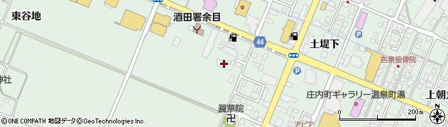 山形県東田川郡庄内町余目滑石53周辺の地図