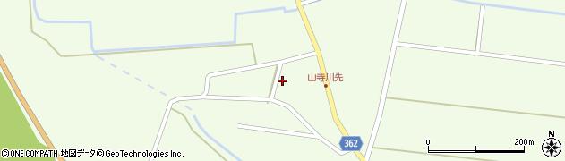 山形県酒田市山寺宅地41周辺の地図