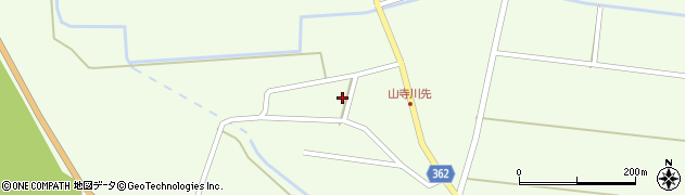 山形県酒田市山寺小出池ノ尻29周辺の地図