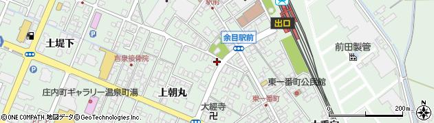 山形県東田川郡庄内町余目上朝丸68周辺の地図