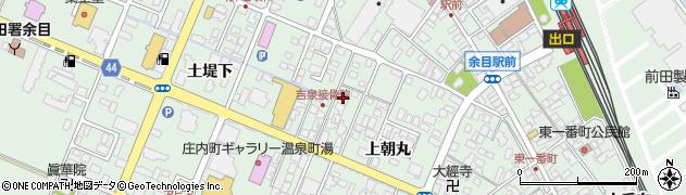 山形県東田川郡庄内町余目上朝丸111周辺の地図