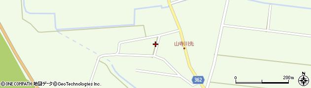 山形県酒田市山寺小出池ノ尻30周辺の地図