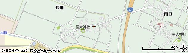 山形県東田川郡庄内町余目長畑14周辺の地図