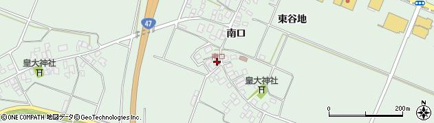 山形県東田川郡庄内町余目南口36周辺の地図