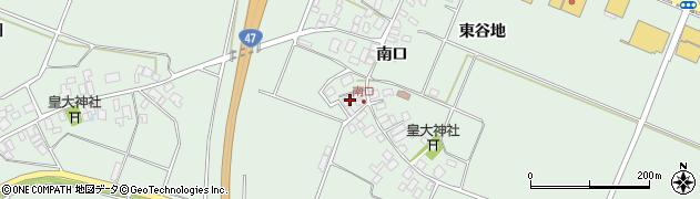 山形県東田川郡庄内町余目南口37周辺の地図