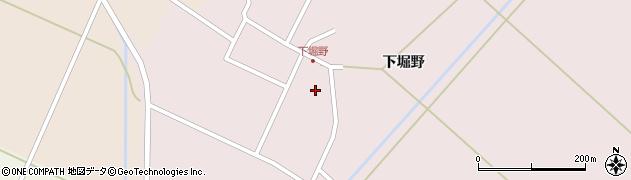 山形県東田川郡庄内町堀野下堀野22周辺の地図