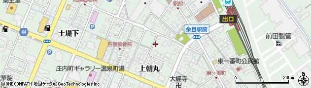 山形県東田川郡庄内町余目上朝丸108周辺の地図
