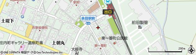 山形県東田川郡庄内町余目沢田125周辺の地図