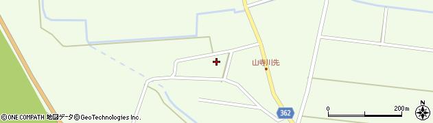 山形県酒田市山寺小出池ノ尻33周辺の地図