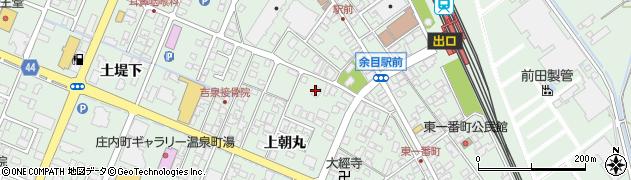 山形県東田川郡庄内町余目上朝丸84周辺の地図