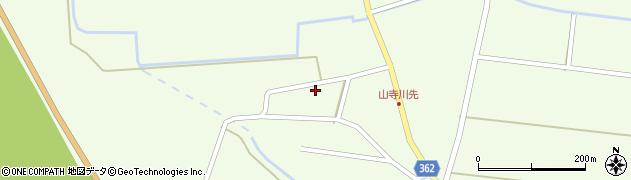 山形県酒田市山寺小出池ノ尻34周辺の地図