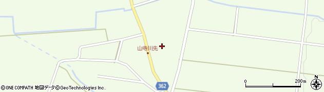 山形県酒田市山寺宅地50周辺の地図