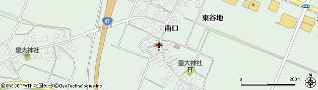 山形県東田川郡庄内町余目南口35周辺の地図