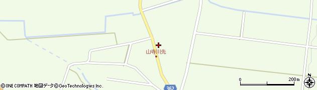 山形県酒田市山寺宅地51周辺の地図