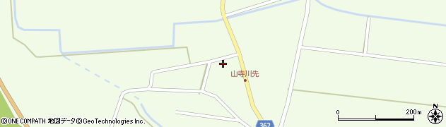 山形県酒田市山寺宅地58周辺の地図