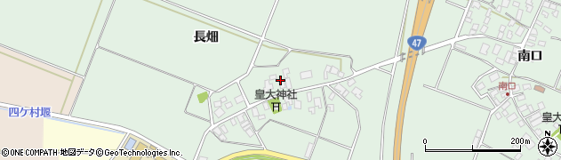 山形県東田川郡庄内町余目長畑52周辺の地図