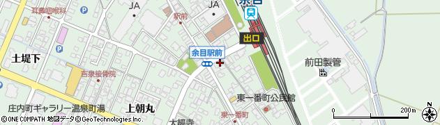 山形県東田川郡庄内町余目沢田127周辺の地図