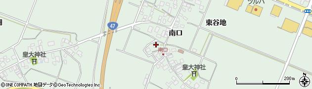 山形県東田川郡庄内町余目南口34周辺の地図