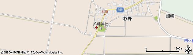 山形県東田川郡庄内町杉浦杉野63周辺の地図