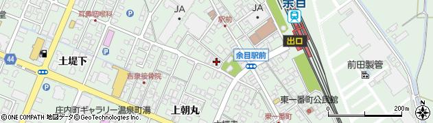 山形県東田川郡庄内町余目上朝丸157周辺の地図