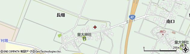 山形県東田川郡庄内町余目長畑57周辺の地図
