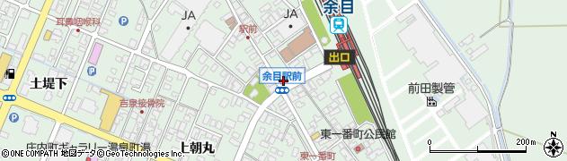 山形県東田川郡庄内町余目沢田130周辺の地図