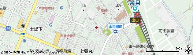 山形県東田川郡庄内町余目上朝丸156周辺の地図