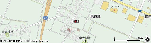 山形県東田川郡庄内町余目南口46周辺の地図