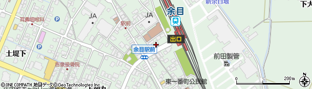 山形県東田川郡庄内町余目沢田周辺の地図