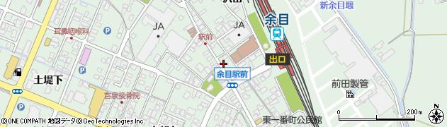 山形県東田川郡庄内町余目沢田135周辺の地図