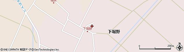 山形県東田川郡庄内町堀野下堀野97周辺の地図