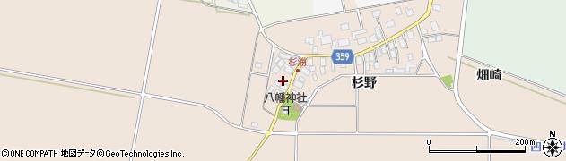 山形県東田川郡庄内町杉浦杉野7周辺の地図