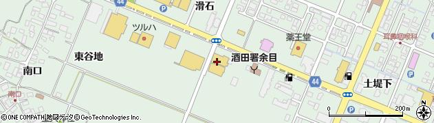 山形県東田川郡庄内町余目滑石56周辺の地図