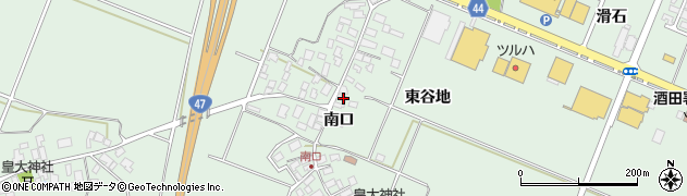 山形県東田川郡庄内町余目南口64周辺の地図