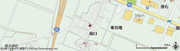 山形県東田川郡庄内町余目南口62周辺の地図