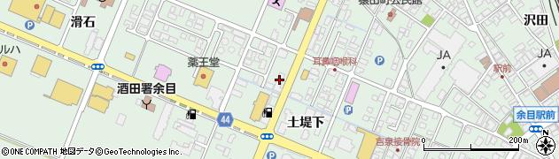 山形県東田川郡庄内町余目土堤下21周辺の地図