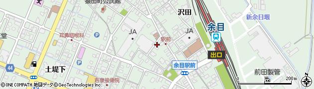 山形県東田川郡庄内町余目上朝丸161周辺の地図