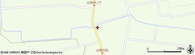 山形県酒田市山寺宅地86周辺の地図