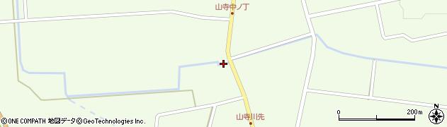 山形県酒田市山寺宅地85周辺の地図