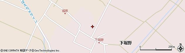山形県東田川郡庄内町堀野下堀野62周辺の地図