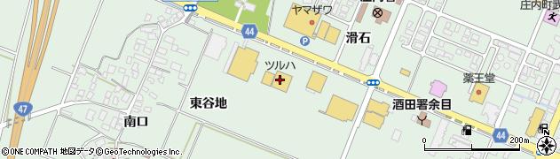 山形県東田川郡庄内町余目滑石59周辺の地図