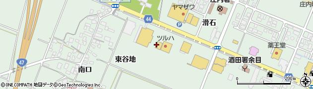 山形県東田川郡庄内町余目滑石61周辺の地図