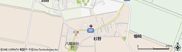 山形県東田川郡庄内町杉浦杉野26周辺の地図