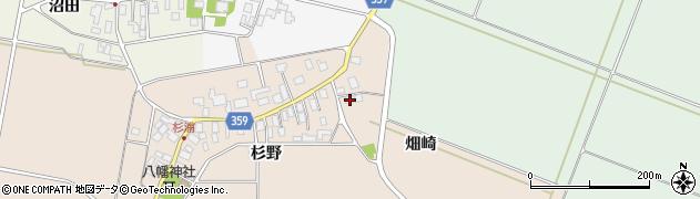 山形県東田川郡庄内町杉浦畑崎45周辺の地図