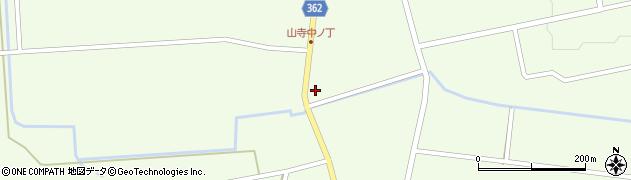 山形県酒田市山寺宅地104周辺の地図